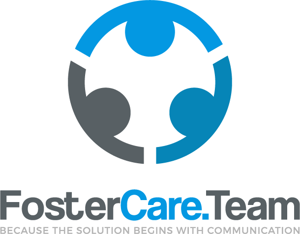 Full color FosterCare.Team logo on a white background