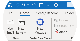 Outlook plugin for HIPAA compliant communication